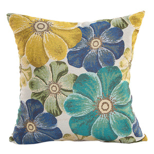 Classy Flowers Cushion Cover