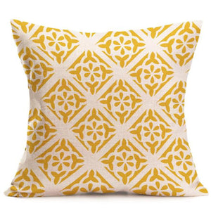 Luxy Geometric Cushion Cover