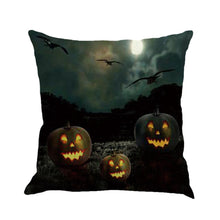 Load image into Gallery viewer, Happy Halloween Cushion Cover Home Decor