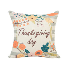 Load image into Gallery viewer, Thanksgiving Day Cushion Cover
