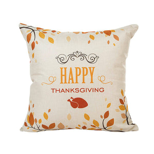 Happy Thanksgiving Day Cushion Cover