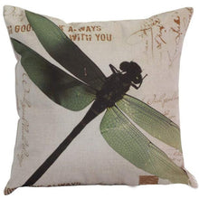 Load image into Gallery viewer, Dragonfly Cushion Cover