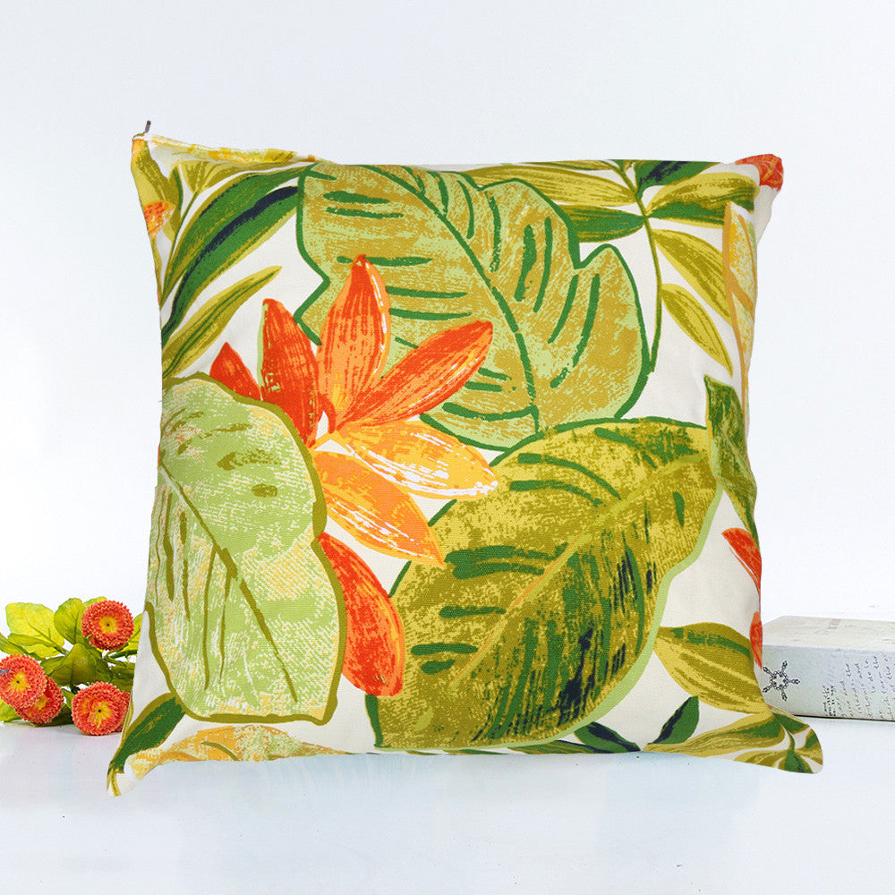 Leaves Cushion Cover