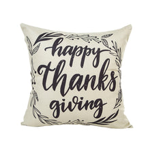 Load image into Gallery viewer, Grateful Pumpkin Cushion Cover