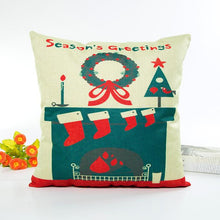 Load image into Gallery viewer, Christmas Green Cushion Cover