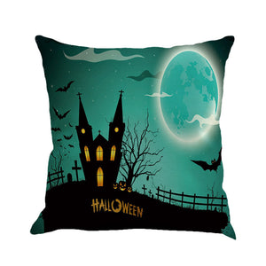 Haunted Halloween Cushion Cover