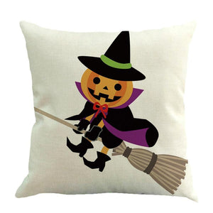 Flying Halloween Cushion Cover