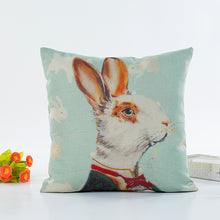 Load image into Gallery viewer, Valentine's Day Rabbit Cushion Cover
