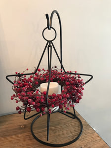 Small Star Candle Holder & Stand