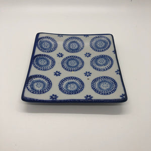 Vintage 4 Inch Square Tray