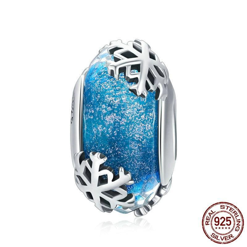 Charms Argent Bead Hiver