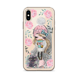 Boss Babe Glitter iPhone Case Cat Walk by Nature Magick