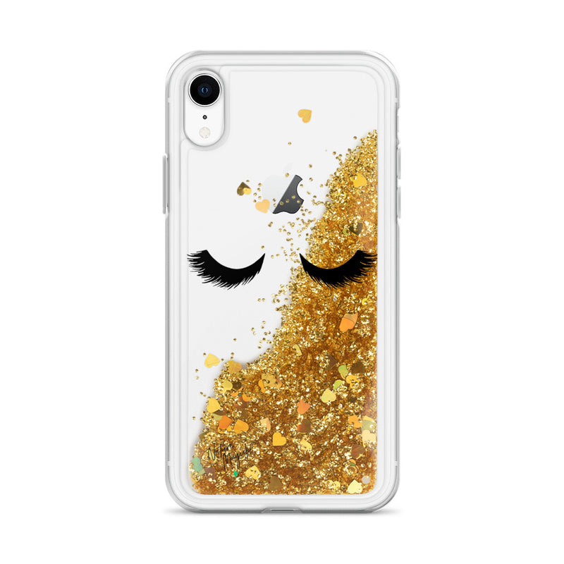 Eyelashes Glitter Phone Case for iPhone by Nature Magick