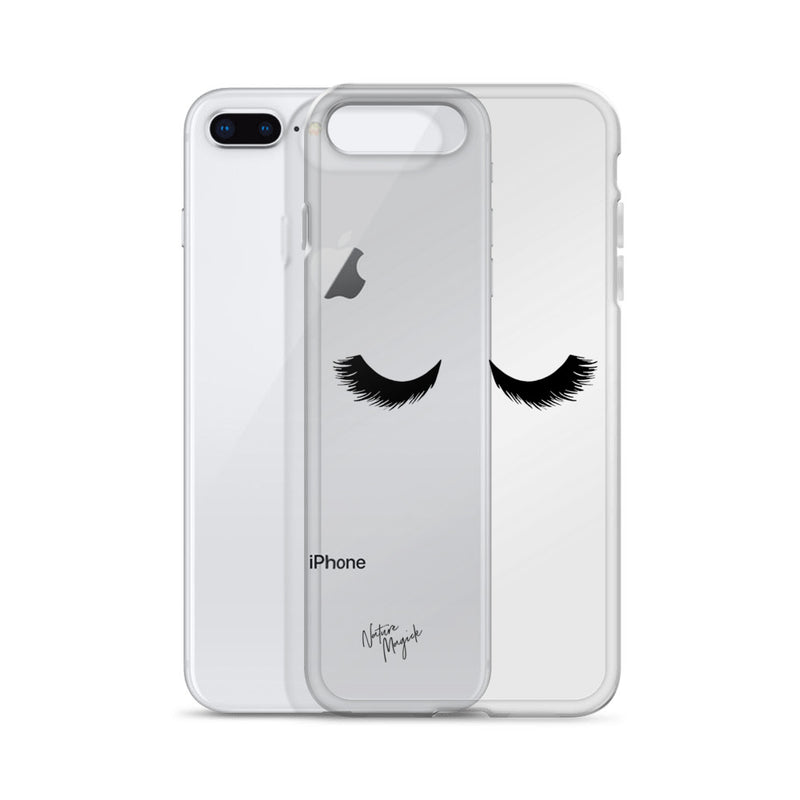 Clear Eyelashes Phone Case for iPhone by Nature Magick