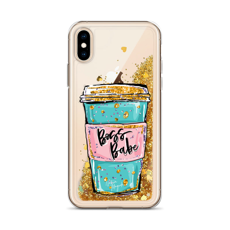 Boss Babe Glitter Phone Case for iPhone by Nature Magick