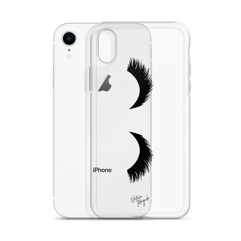 Clear Eyelash Phone Case for iPhone Clear by Nature Magick