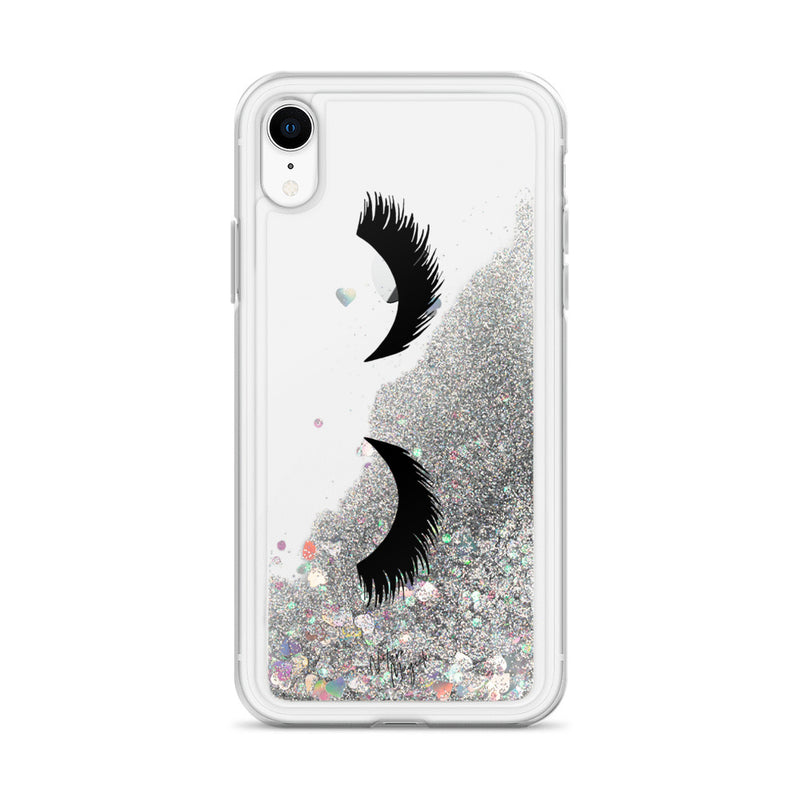 Eyelash Glitter Phone Case for iPhone Clear by Nature Magick