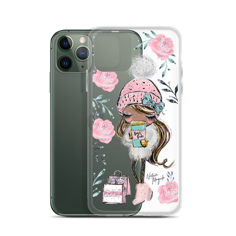 Clear Shopping Boss Babe iPhone Case by Nature Magick