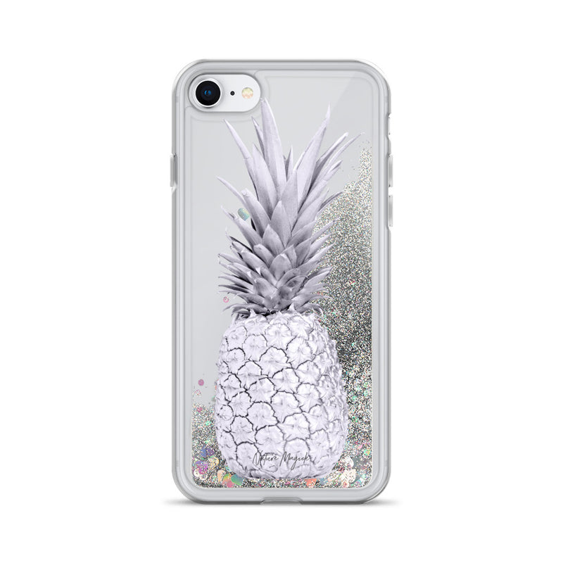 Pineapple Glitter iPhone Case in Purple by Nature Magick