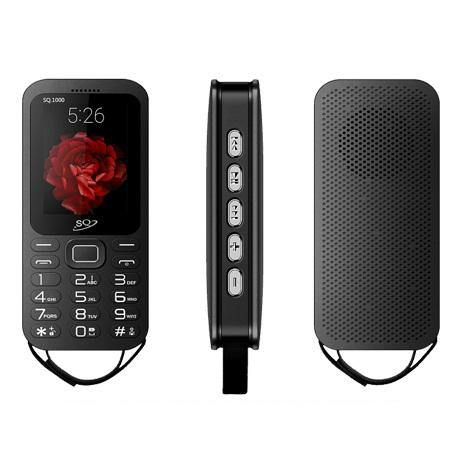 SQ SQ1000 Dual SIM Big Speaker Bluetooth FM Radio Power Bank 20000mAh  - Black - My Gadgets World