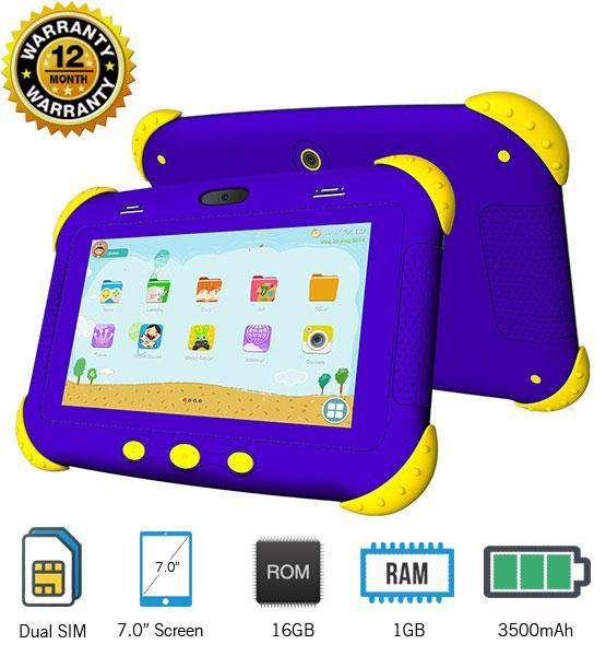 X-Tigi Kids7 Pro Tablet Dual SIM 16GB HDD - 7.0