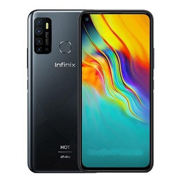 Infinix Hot 9 X655 4G LTE -64GB HDD - 3GB RAM - Midnight Black