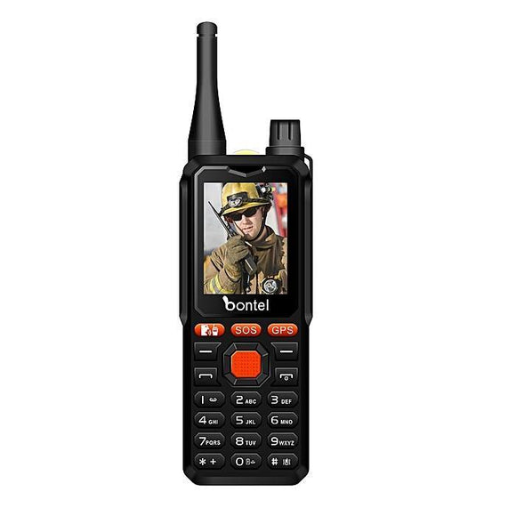 Bontel A9 Walkie-Talkie 10Km Range Dual SIM - Black - My Gadgets World