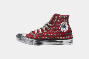 Converse/Chuck Taylor/Red Spike