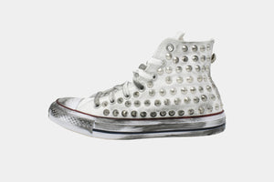 Converse/Chuck Taylor/White Spike