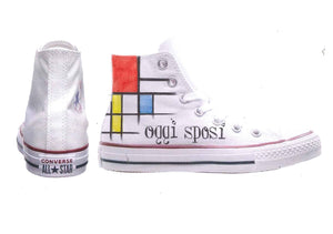 Custom-Sneakers/Wedding|Mondrian-Paola