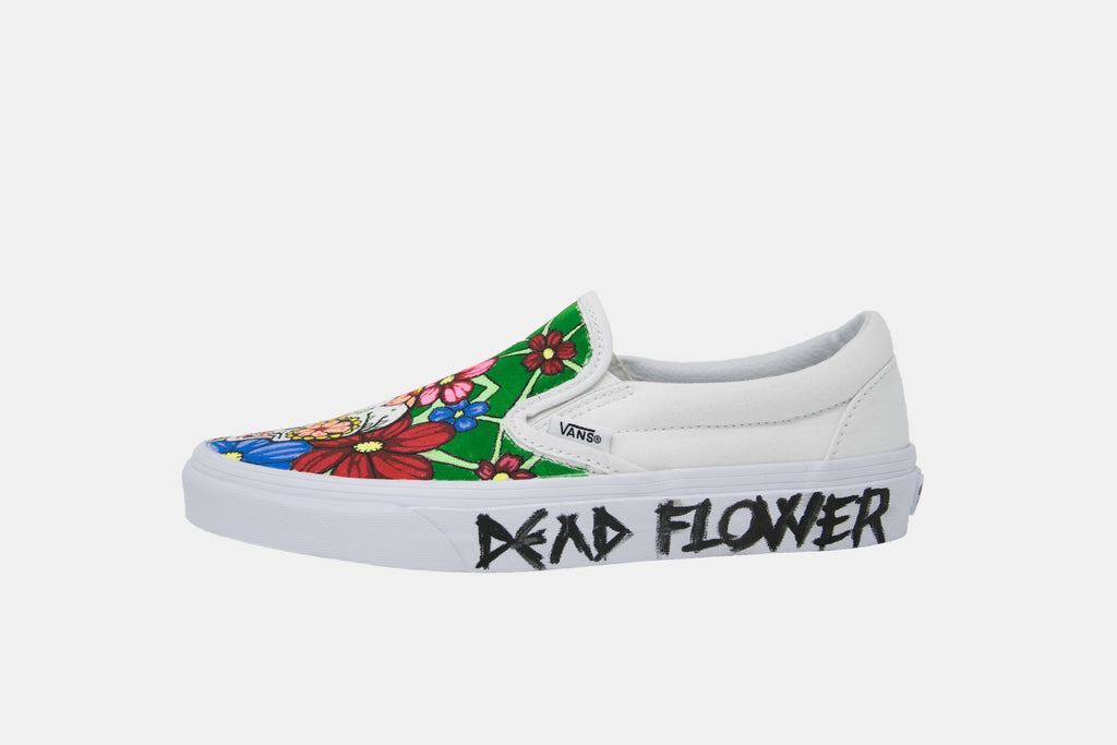 Vans/Slip-On/Dead Flower