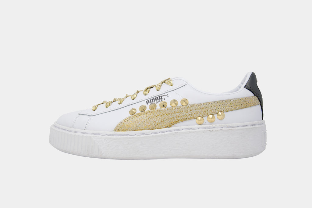Puma/Basket/Gold Metal