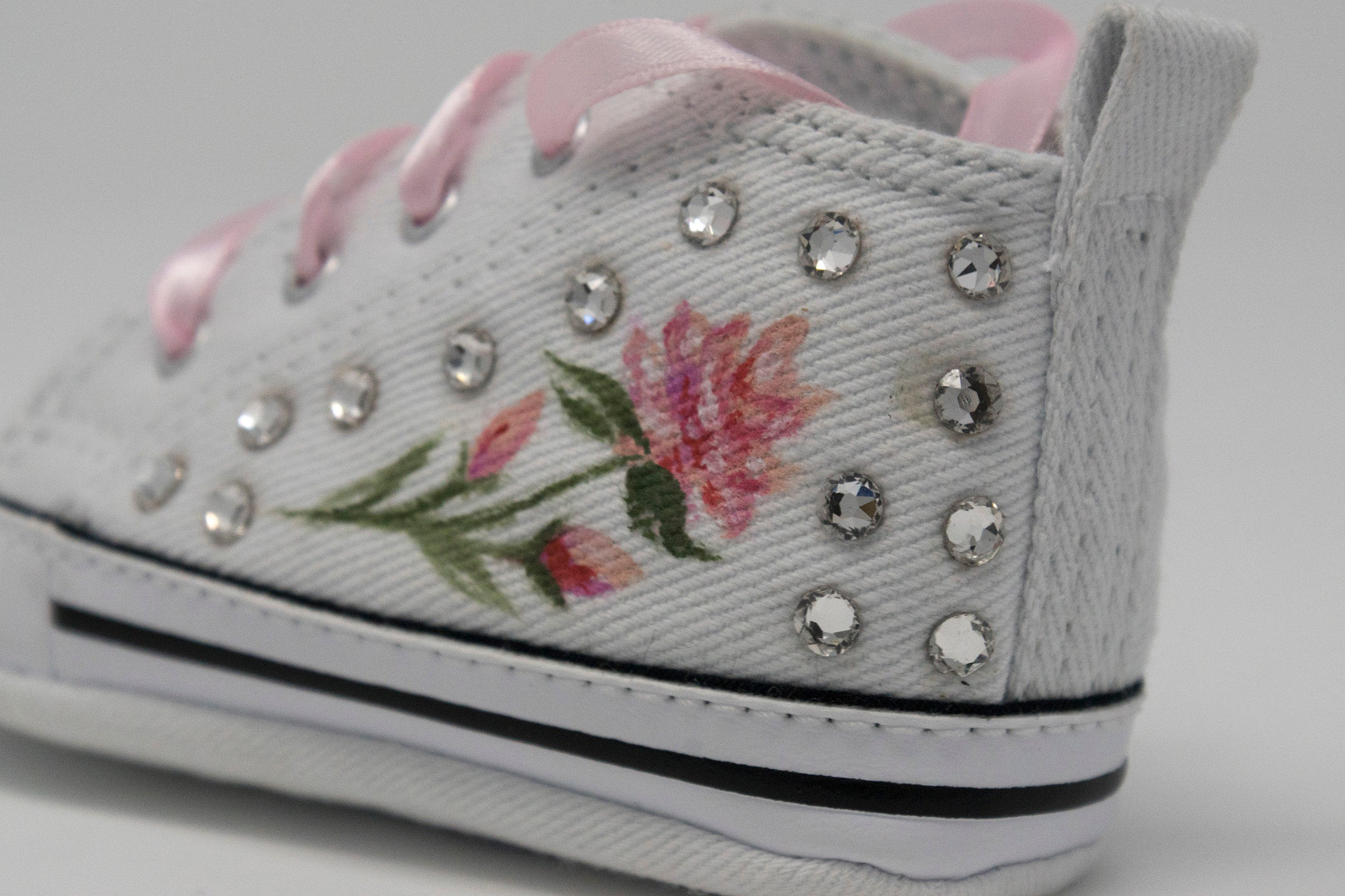 Baby Converse/Chuck Taylor/Little Rose
