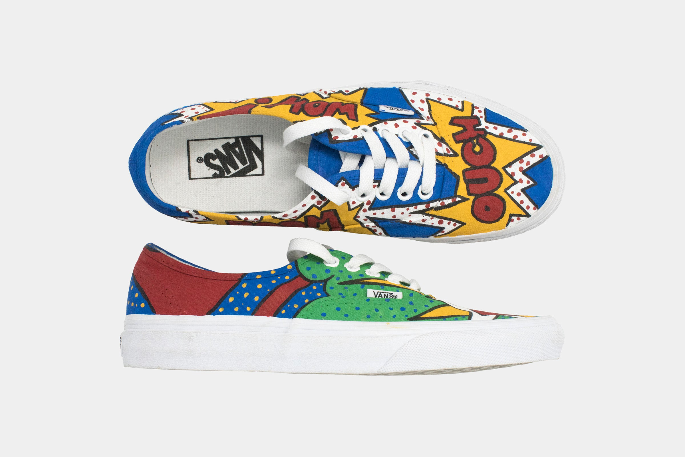 Vans/Authentic/Pop Art