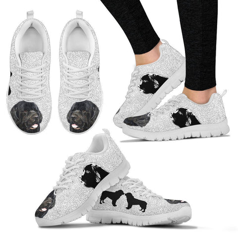 Amazing Newfoundland Dog-Women's Running Shoes-Free Shipping-Paww-Printz-Merchandise