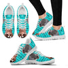 Djungarian Hamster Print Christmas Running Shoes For Women-Free Shipping-Paww-Printz-Merchandise