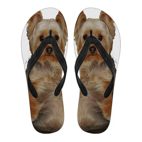 Yorkshire Flip Flops For Women-Free Shipping-Paww-Printz-Merchandise