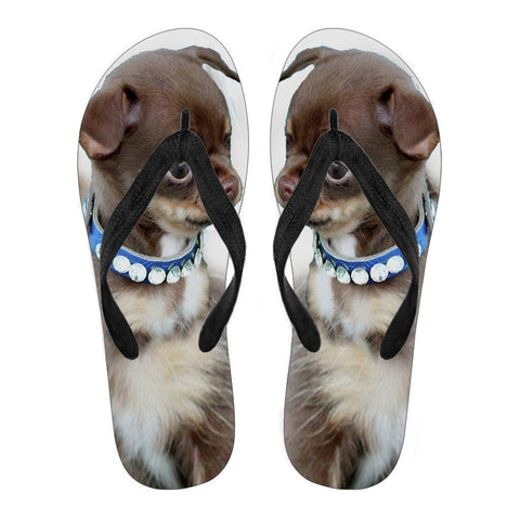 Chihuahua Puppy Flip Flops For Women-Free Shipping-Paww-Printz-Merchandise