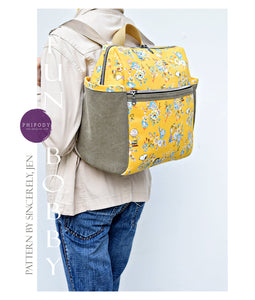 Fun Bobby Backpack - PDF Sewing Pattern