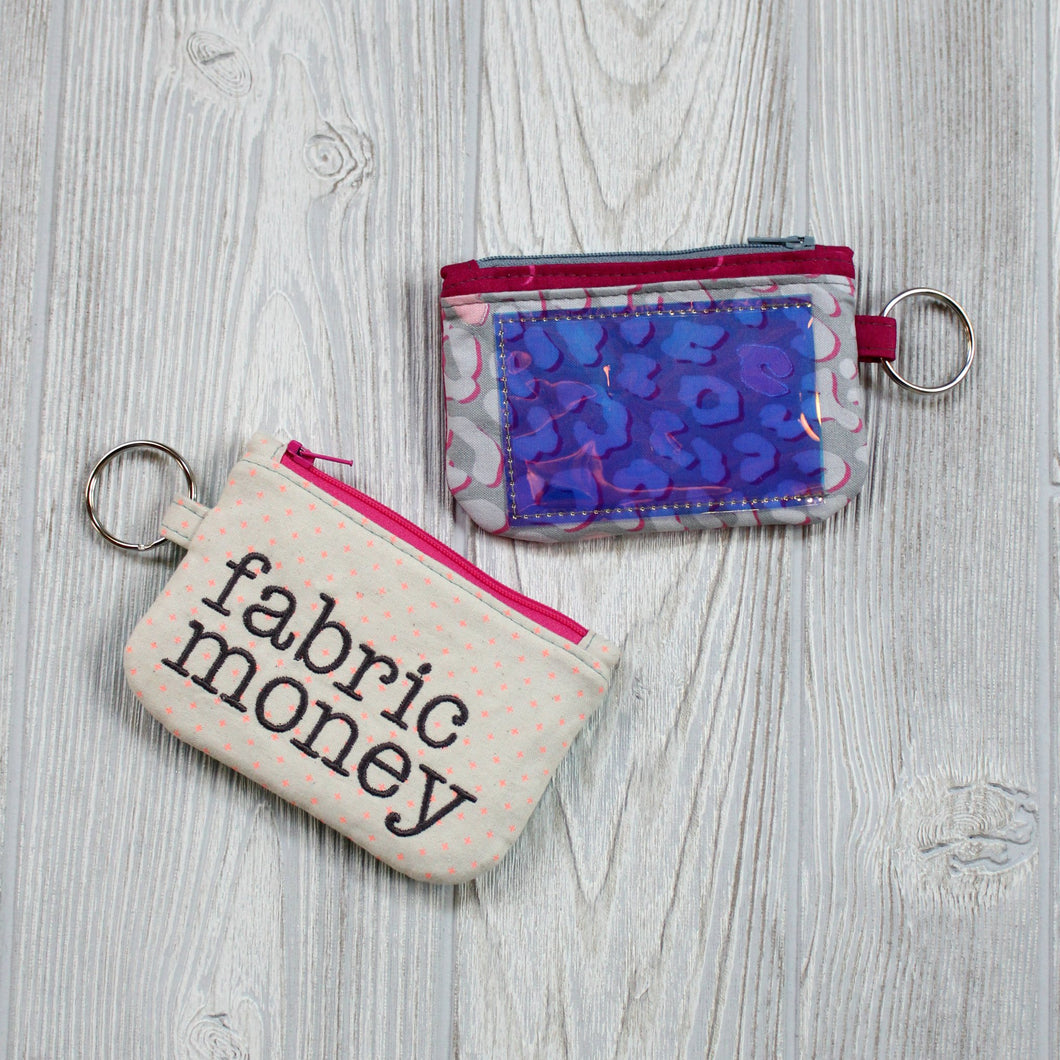 Zippered ID Case