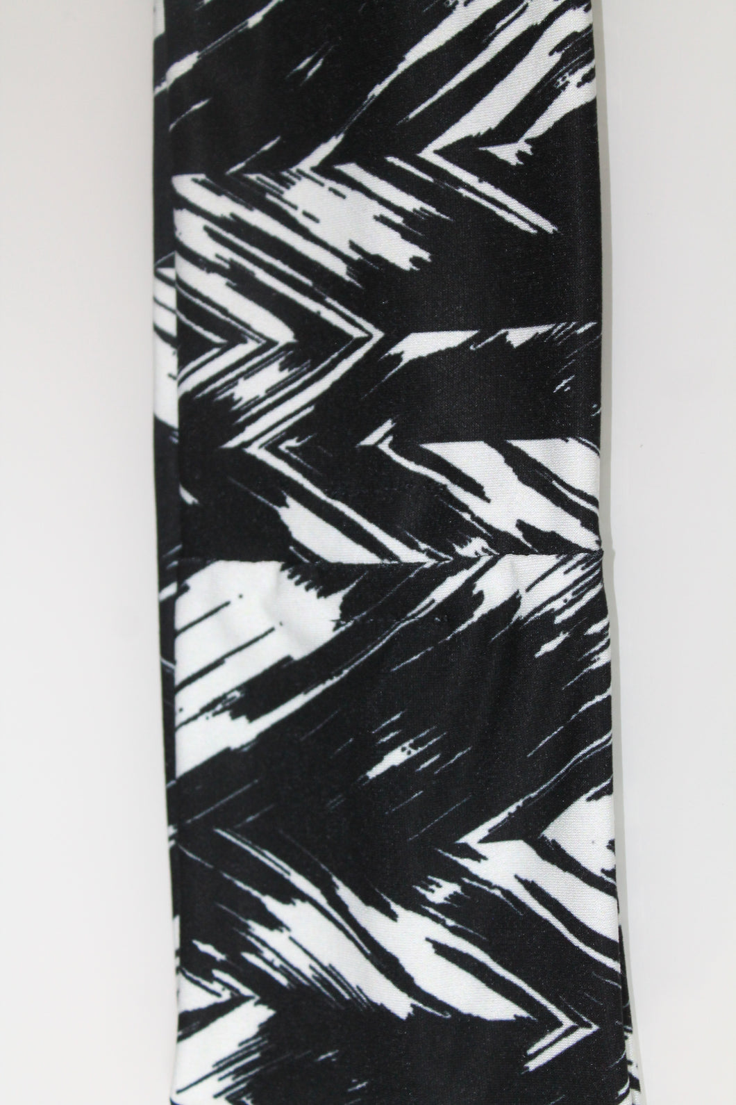 Black and White Cotton Stretch  Headband