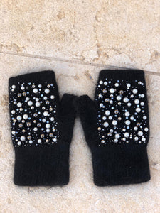 Pearl Fingerless Gloves