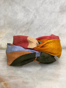 Colorblock Twist Headband