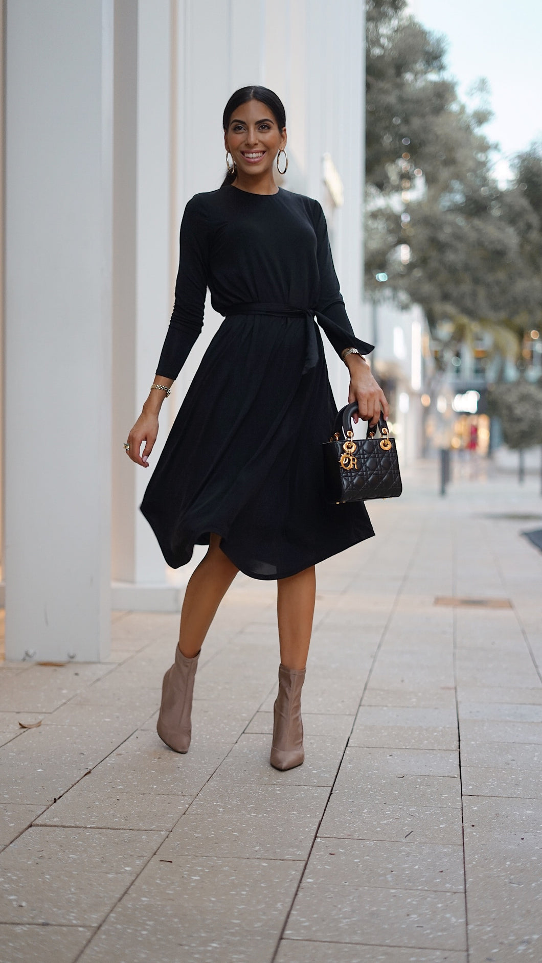Black Flow Dress 2.0
