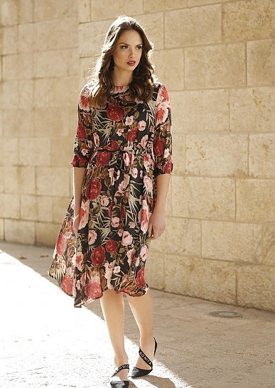 Rose Flow Dress