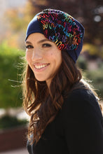 Load image into Gallery viewer, Summer Beanie - Multi Color Flower