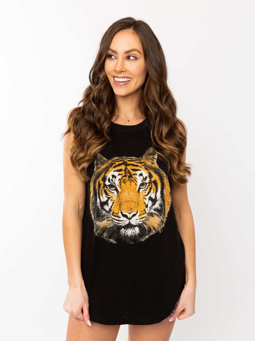 The Big Tiger | Black Tank