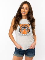 The Tiger Head Muscle Tank