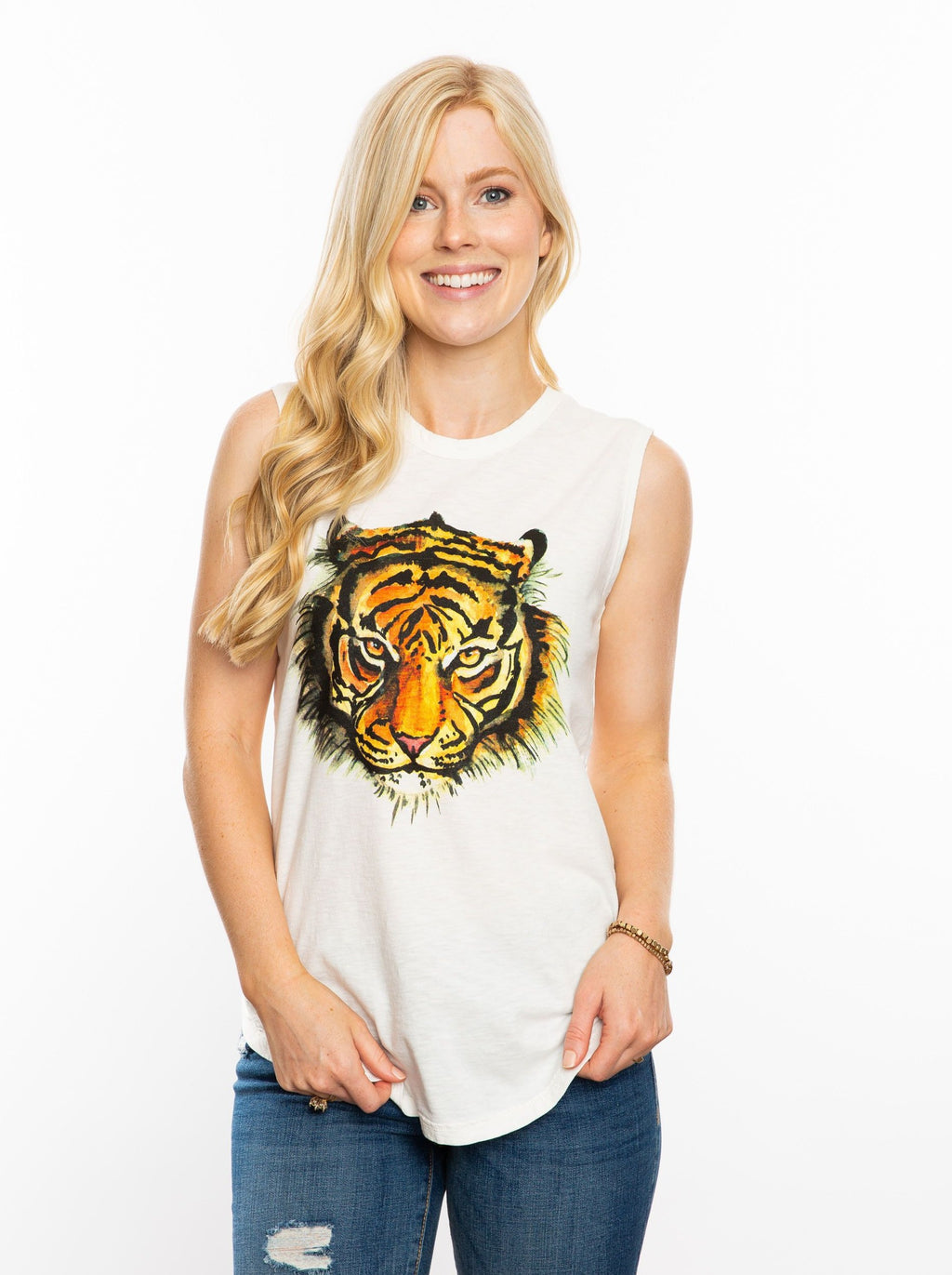 The Watercolor Tiger | Tank