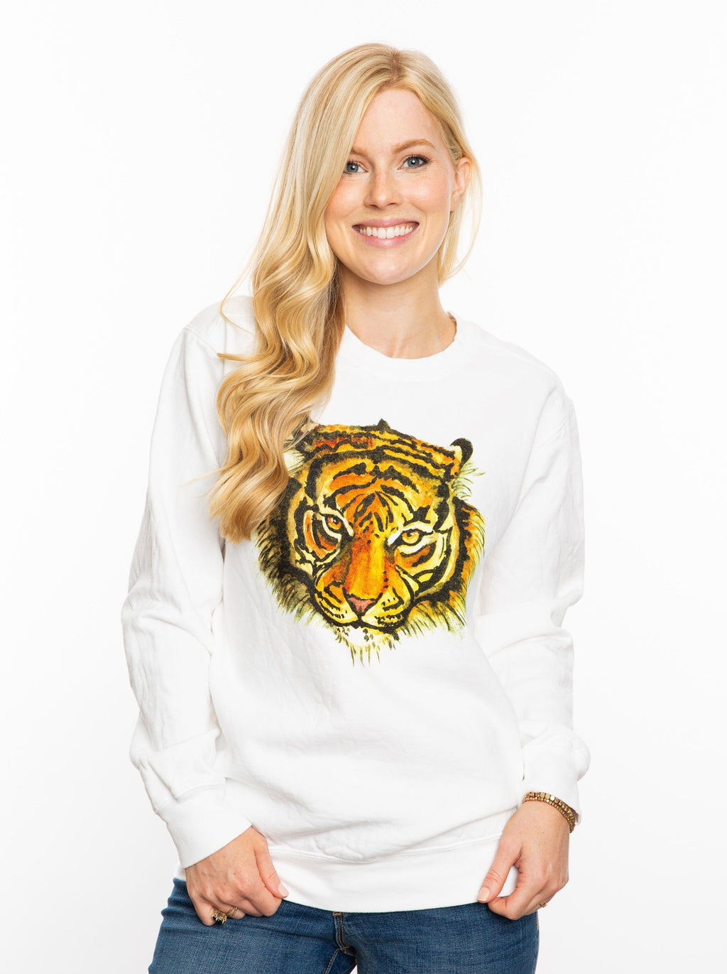 Watercolor Tiger | Sweatshirt